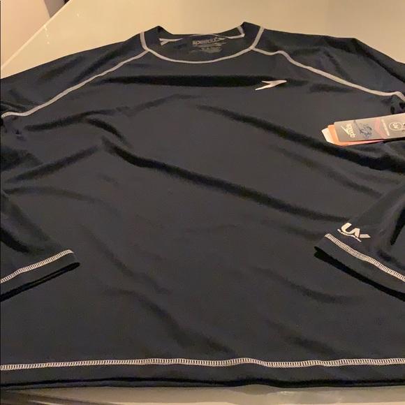 Speedo long sleeved UV shirt - L